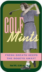 Ladies Golf Mints - Case of 24