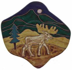 "Mara Dinner Plate 12"" - Moose"
