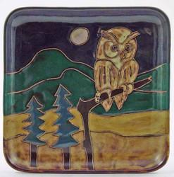 """Mara Salad Plate 8.5"""" - Owl"""