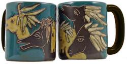 Mara Mug 16oz - Horses