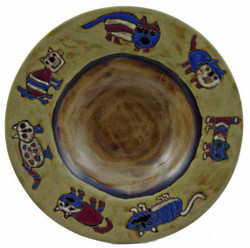 "Mara PASTA Plate 12"" - Cats"