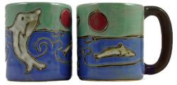 Mara Mug 16oz - Dolphins