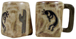 Mara Square Mug 12oz - Kokopelli Traditional