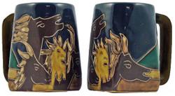 Mara Square Mug 12oz - Horses