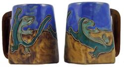 Mara Square Mug 12oz - Gecko