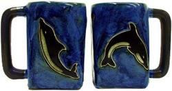Mara Square Mug 12oz - Dolfins