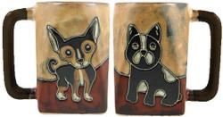Mara Square Mug 12oz - Puppies