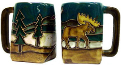 Mara Square Mug 12oz - Moose