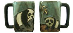 Mara Square Mug 12oz - Panda Bear