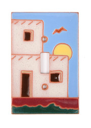 Adobe Scene Light Switch Plate Cover