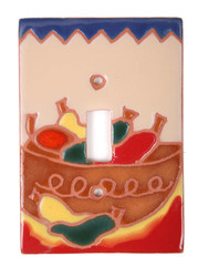 Bowl of Chilis Switch Plate Cover