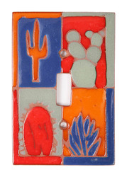 Cactus Window Switch Plate Cover