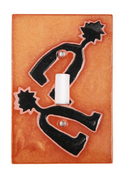 Terra Cotta Spurs Switch Plate Cover