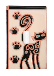 Cat Paws Switch Plate Cover