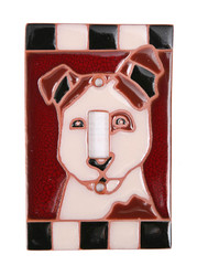 Dog Switch Plate Cover