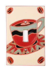 Coffee/Tea Cup Switch Plate Cover
