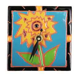 Sunflower Desk Clock