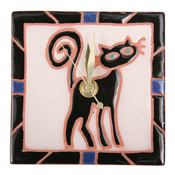 Sassy Cat Desk Clock