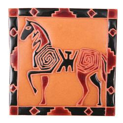 Petroglyph Horse Trivet
