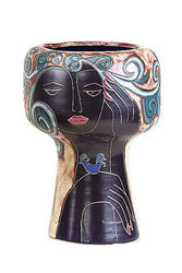 "Mara Large Chalice Vase 14"" - Limited Series"