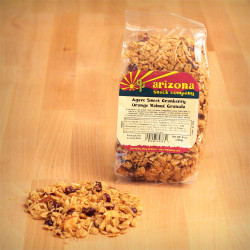 Agave Sweet Cranberry Orange Walnut Granola 8oz