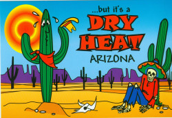 ...but it's a Dry Heat Postcard - Pack of 100