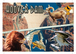 Hoover Dam Postcard - Pack of 100