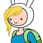 Fionna Cosplay Wig