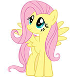 Fluttershy Cosplay Wig