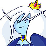 Ice Queen Cosplay Wig
