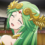 Lady Palutena Cosplay Wig