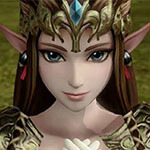 Princess Zelda Cosplay Wig