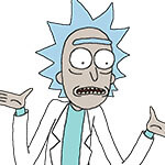 Rick Sanchez Cosplay Wig