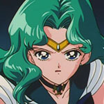 Sailor Neptune Cosplay Wig
