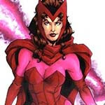 Scarlet Witch Cosplay Wig