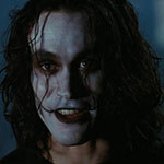 The Crow Cosplay Wig