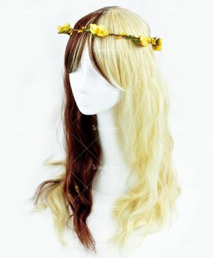 Two Tone Brown/Blonde Long Wavy 70cm