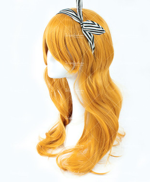 Marigold Yellow/Orange Long Wavy 60cm