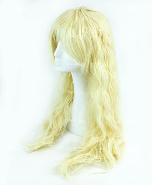 Yellow Long Wavy 75cm