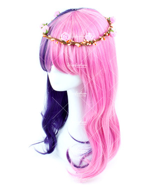 Two Tone of Twilight Sparkle Long Wavy 65cm
