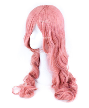 Light Pinky Long Wavy 70cm