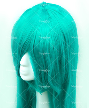 Turquoise Long Straight 90cm