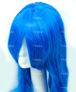 Baby Blue Long Straight 100cm
