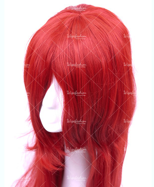 Red Long Straight 95cm