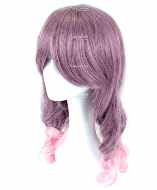 Light Fuchsia Medium Wavy 50cm
