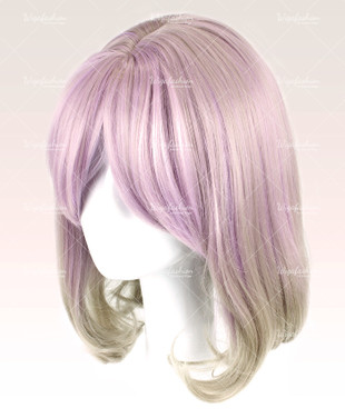 Baby Violet Short Wavy with Gray Strip 30cm