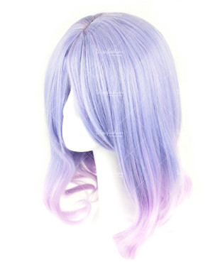 Light Violet Medium Curly 40cm