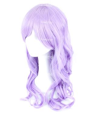 Lavender Violet Long Wavy 70cm