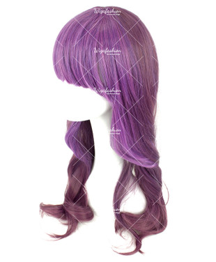 Two Tone Violet Long Wavy 60cm