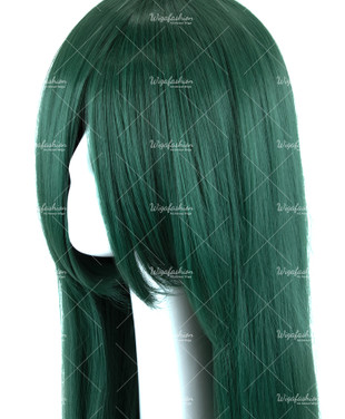 Emerald Green Long Straight 90cm